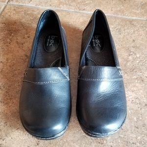 B.O.C. Leather Flats Black